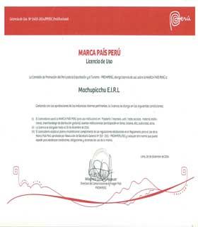 Licencia Marca País Perú