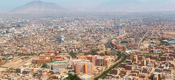 Vista Panoramica de Trujillo