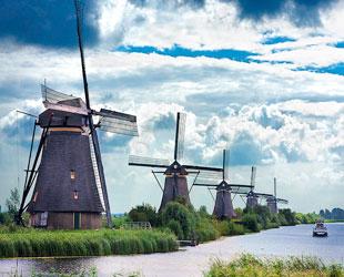 Molinos de viento en Kinderdijk