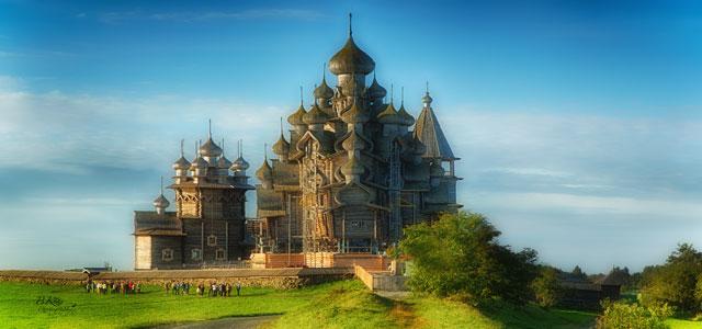isla museo kiszhi en rusia