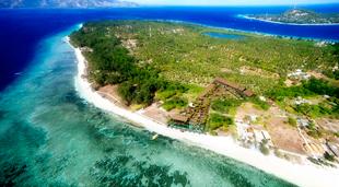 paraíso tailandés, islas gili
