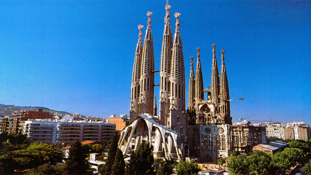 La Catedral de la Sagrada Familia (Barcelona)