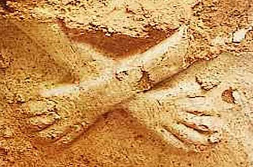 Templo de las manos cruzadas