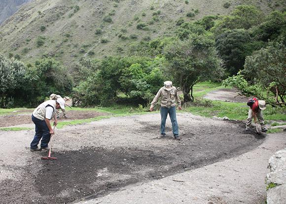 Trabajos en campamiento de Camino Inca hacia Machu Picchu concluyeron con éxito