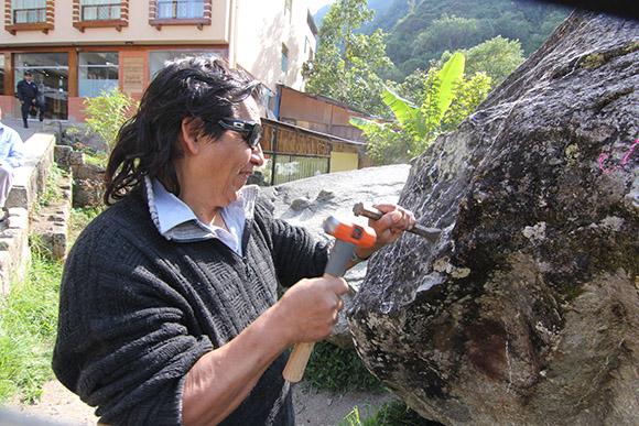 Concurso regional de escultura en alto relieve tallado en piedra Machupicchu 2015 Promoviendo Cultura