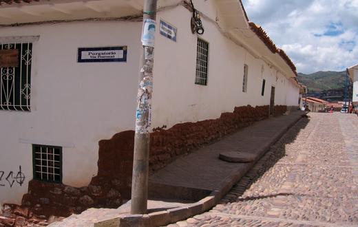 Cusco: Calle Purgatorio