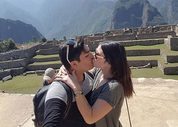 Actor Erick Elera, visito Machu Picchu con su novia