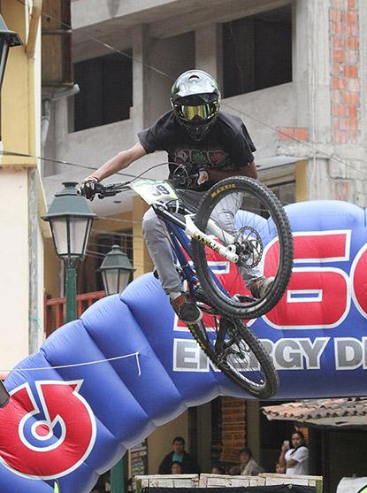 II Concurso de Ciclismo Urbant Down Hill