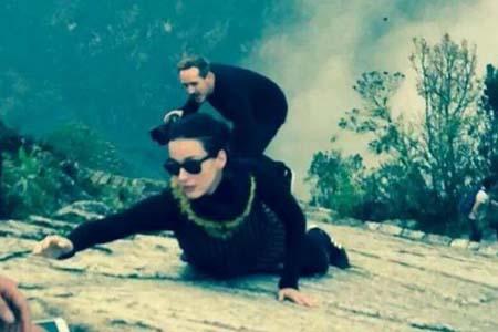Katy Perry en Machu Picchu