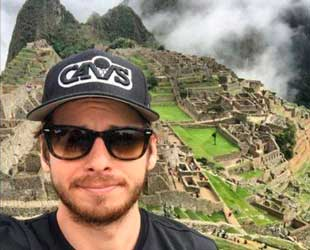 Mark Foster en Machu Picchu