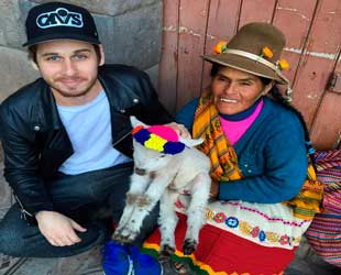 Mark Foster en Cusco