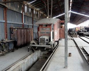 Ferroviario en Tacna