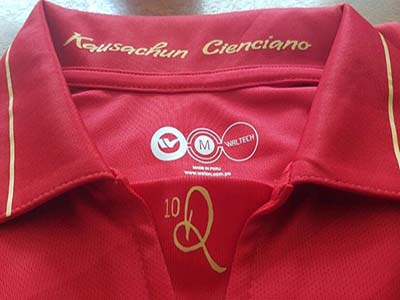 Camiseta Cienciano Ronaldinho
