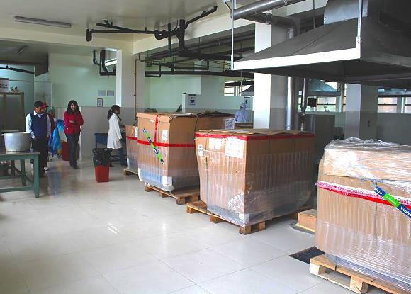 equipos de nutrición para Hospital Regional
