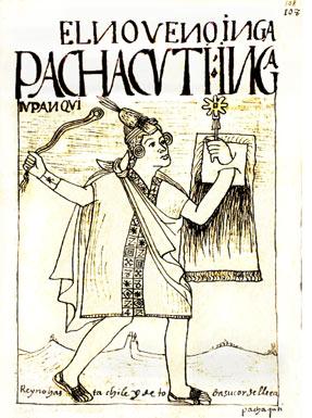 Inca Pachacuteq, noveno gobernante del imperio inca