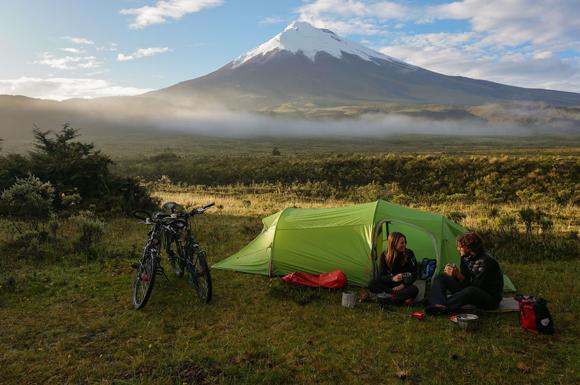 Ecuador-los andes de Cotopaxi