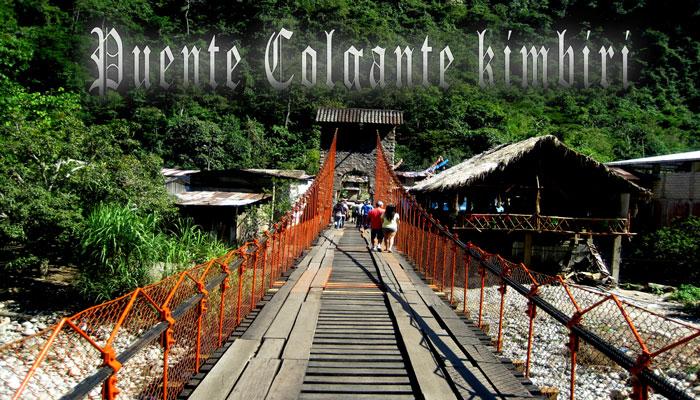 Puente Colgante Kimbiri