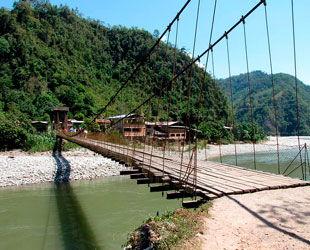 Puente en Junin