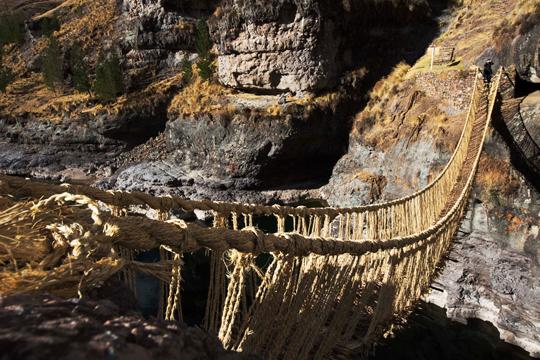 El magestuoso Puente de Qeswachaca