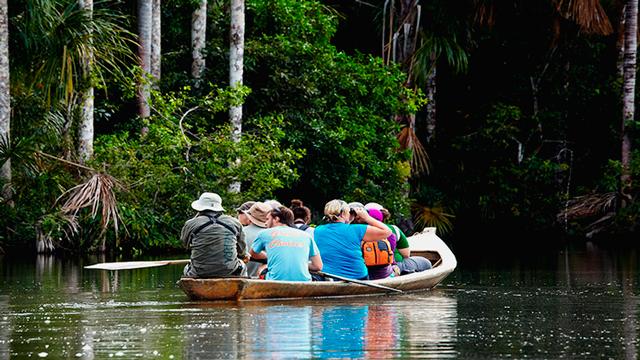 La Reserva Nacional de Tambopata-Candamo