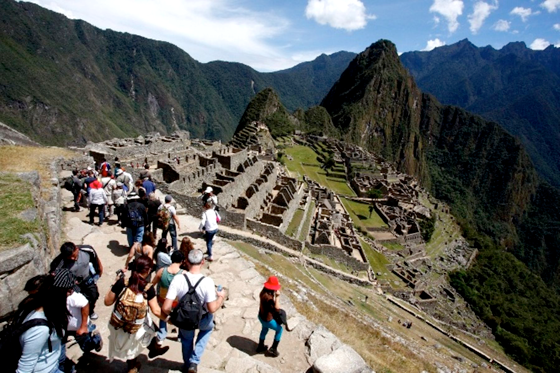 Crecimiento de turismo en Perú