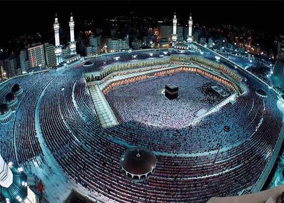 Ciudades de la Mecca y Medina ubicados en Arabia Saudita.