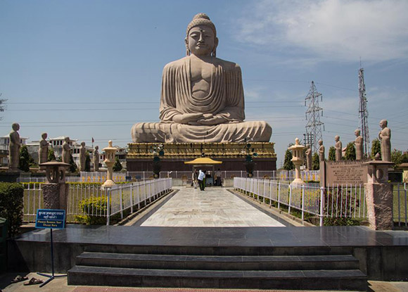 Bodhgaya  en la India.
