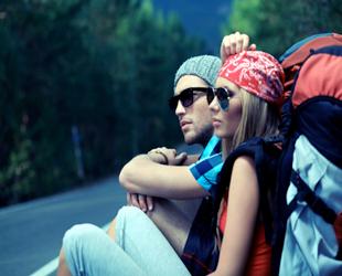 Disfrutando los momentos del viaje