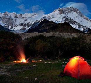 Camping en Huascaran