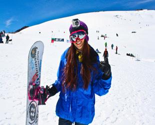 Snowboard en Pastoruri Huascaran