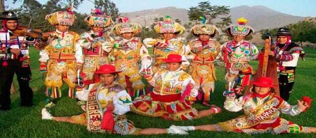 Conjunto de bailarines de Tijeras