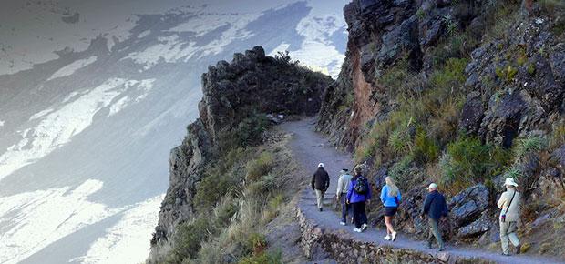 Camino inca a Machu Picchu