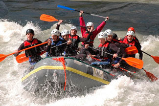 Rafting en rio Apurimac