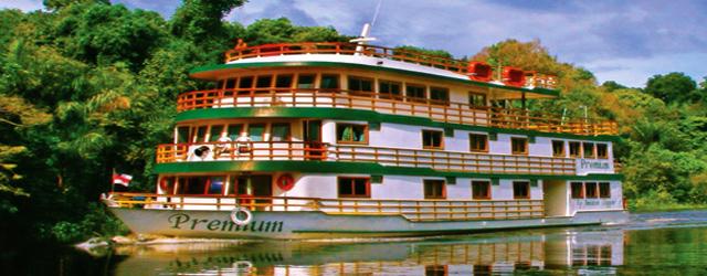 Crucero en Amazonas
