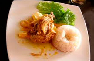 Ceviche de pato Ancash