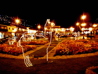 Luces Navideñas en Cusco