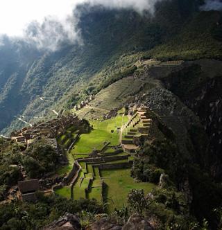 Explanada de Machu Picchu