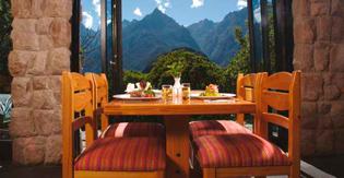 Mirador hacia Machu Picchu