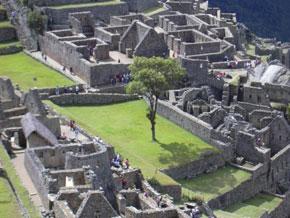 Plaza Principal de Machu Picchu