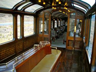 vagón Andean Explorer