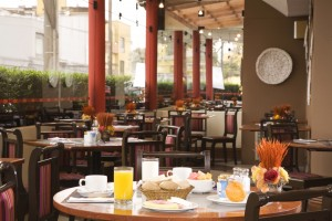 Dining room of Casa Andina Classic Miraflores San Antonio