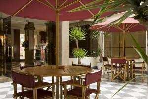 Patio of Casa Andina Classic Miraflores San Antonio