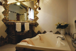 Jacuzzi del Hotel Casitas del Arco Iris