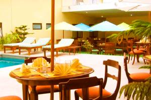 Piscina del Hotel Costa del Sol Cajamarca