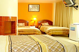 Habitación del Hotel Costa del Norte