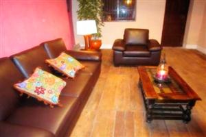 Sala del Hotel Hacienda Yanamarca - Cajamarca