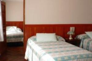 Habitación del Hotel Monte Blanco