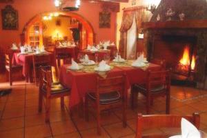 Comedor del Hotel Posada de Puruay Cajamarca