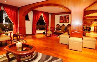 Sala del Hotel Samay