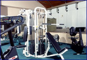 Gym Sol de Oro Hotel and Suites